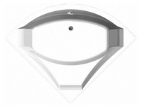 Акриловая ванна Vagnerplast Veronela (140x140x45)