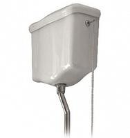 Бачок для унитаза Kerasan Retro 108001 подвесной для высокой трубы