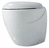 Чаша для унитаза приставного Azzurra Clas CLA100B1/P