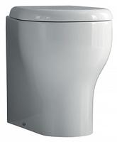 Чаша для унитаза приставного Kerasan K 09 361001 укороченного