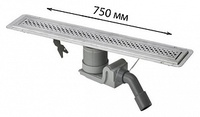 Душевой лоток Viega Advantix 619053 с решеткой