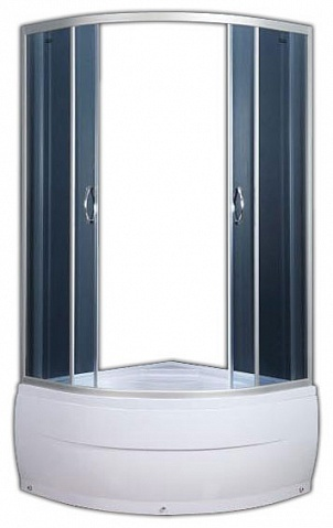 Душевой уголок Fresh H314GB (100 см) с поддоном