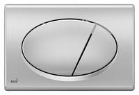 Кнопка смыва AlcaPlast ALCA M72 хром матовый
