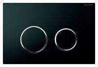 Кнопка смыва Geberit Kappa 21 115.240.KM.1 черный/матовый хром