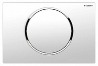 Кнопка смыва Geberit Sigma 10 115.758.KJ.5 белый / хром