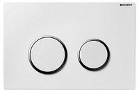 Кнопка смыва Geberit Sigma 20 115.778.KJ.1 белая с хромом
