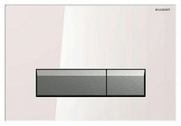 Кнопка смыва Geberit Sigma 40 115.600.SI.1 с системой удаления запаха