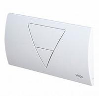 Кнопка смыва Viega Visign for Life 1 462239 металлическая белая