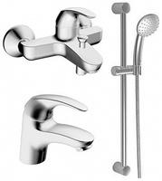 Комплект для ванной Hansa Pico 46400200 - 2 смесителя Pico + душ