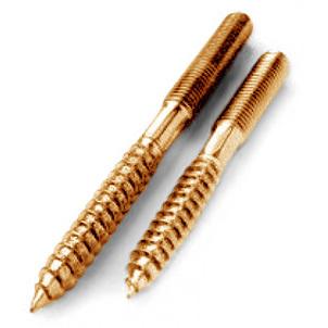 Комплект крепежа для биде Kerasan 760393 к полу бронза
