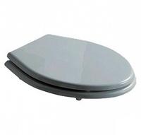 Крышка-сиденье Galassia Ethos белая петли хром