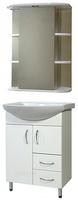 Мебель для ванной СанТа Грация 60 2 двери 2 ящика