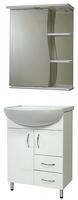 Мебель для ванной СанТа Сити 60 2 двери 2 ящика