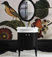 Мебель для ванной Simas Lante LAM70 черный глянцевый
