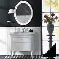 Мебель для ванной Simas Lante LAM90 черный глянцевый
