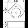 Раковина Melana MLN-7929