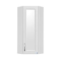 Шкаф подвесной Style Line 300/800 угловой (стекло)