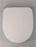 Крышка-сиденье для унитаза HARO Венто со стальным креплением белый