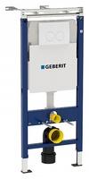 Система инсталляции для унитазов Geberit Duofix Delta Платтенбау 458.162.11.1 4 в 1 с кнопкой смыва