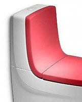 Спинка для унитаза Roca Khroma 80165AF3T красная