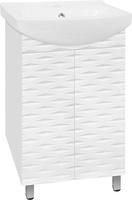 Тумба Style Line Папирус 50, Люкс белая
