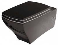 Унитаз подвесной ArtCeram Jazz JZV001 черный с белым