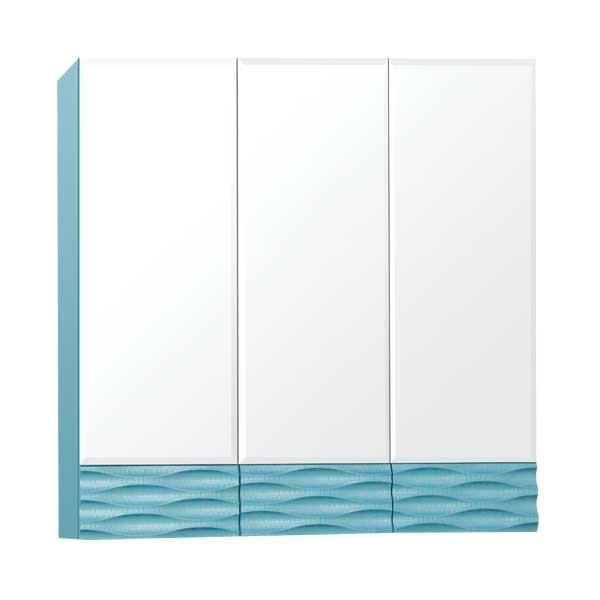 Зеркальный шкаф Style Line Ассоль 80, Люкс аквамарин