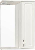 Зеркальный шкаф Style Line Олеандр-2 55/С Люкс, рельеф пастель