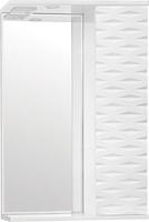 Зеркальный шкаф Style Line Папирус 50/С, Люкс белый