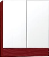 Зеркальный шкаф Style Line Вероника 70, Люкс бордо