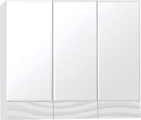 Зеркальный шкаф Style Line Вероника 80, Люкс белый