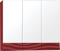 Зеркальный шкаф Style Line Вероника 80, Люкс бордо