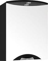 Зеркальный шкаф Style Line Жасмин-2 55/С, Люкс черный