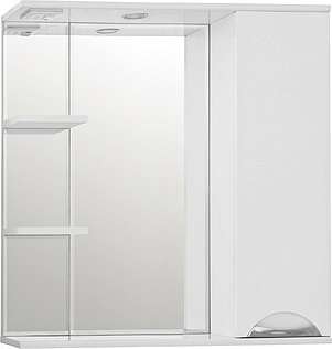 Зеркальный шкаф Style Line Жасмин 80/С