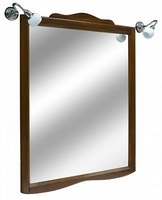 Зеркало Kerasan Retro 734540 (92 см) орех