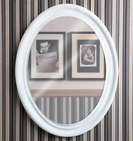 Зеркало Simas Lante белый глянцевый