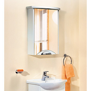 Зеркало-шкаф Aqwella Ультра люкс 55