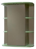 Зеркало-шкаф СанТа Герда 55 свет фисташка