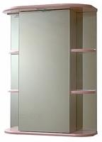 Зеркало-шкаф СанТа Герда 55 свет розовый