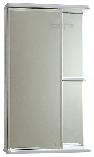 Зеркало-шкаф СанТа Ника 40 фацет L