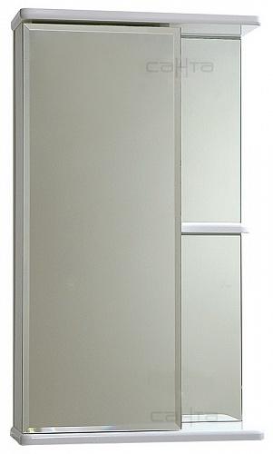 Зеркало-шкаф СанТа Ника 50 фацет L