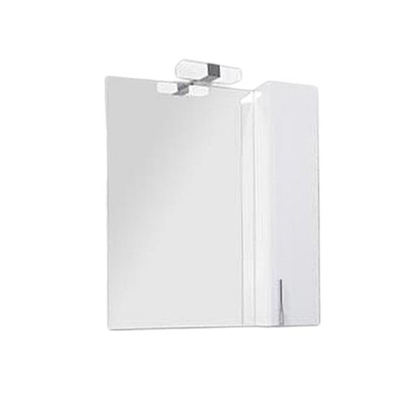 Зеркало-шкаф со светильником Акватон МЭРИЛЕНД 76/Светильник Марта-3