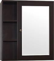 Зеркало-шкаф Style Line Кантри 75, Венге